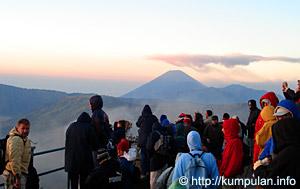 Pemandangan dari Gunung Pananjakan Bromo